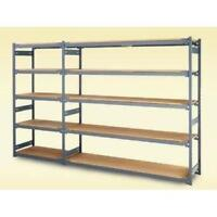 E-Z-Rect, Chrome Shelving, Boltless Metal Shelving