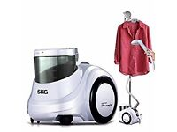 SKG Professional 1750W Upright Garment Steamer (100C Steam, 1.8L Tank)