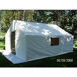 Wall Tent with aluminum frame for sale