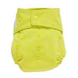 GroVia Citrus hybrid cloth diaper and 2 soakers - 20% off!