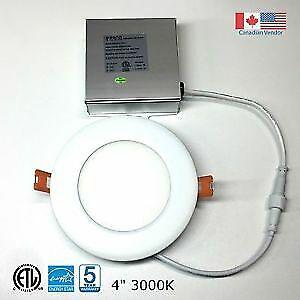 "4"" ultraslim LED round panel light"