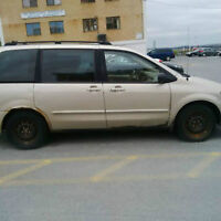 FOR SALE AS IS 2001 MAZDA MPV2