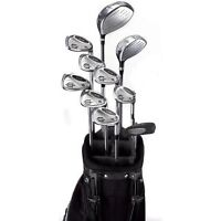 GRAPHITE GOLF CLUBS & BAG - FULL SET Like New in Crowsnest Pass