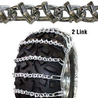 TIRE CHAINS FOR TRACTOR,SKID STEER,FORK LIFT,LAWN & GARDEN, ATV