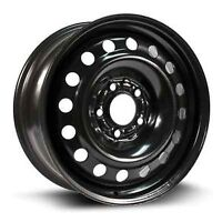 """USED 5 BOLT GM/ CHEVY 17 BLACK STEEL. 4 RIMS $200 """"FIRM"""""""