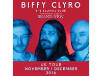 2 x Sold out standing Biffy Clyro tickets at SSE Hydro Tuesday, 29 November 2016