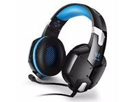 BasicTune G1200 Stereo Gaming Headphones Headset with Microphone for PC PS4 Xbox
