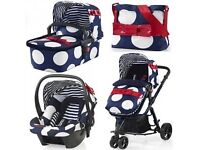 Pram buggy travel system