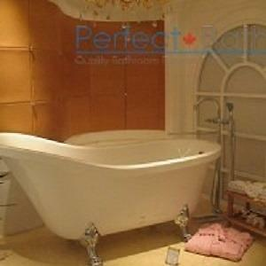 Antique Style Clawfoot Bathtub Single Slip Style – GFK1700-1
