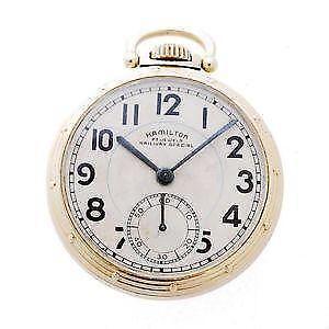 b994f555f Hamilton Watches - Pocket, Bands, Vintage | eBay