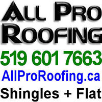 Flat and Shingled Roofing — over 35 years of Pro Experience!