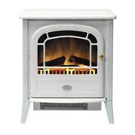 Electric stove , white , brand new in box.