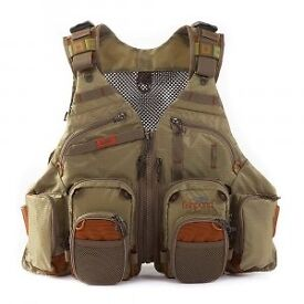 Fishpond gore range fly vest. New with tags. Cheapest on net is £116. Unneeded gift.