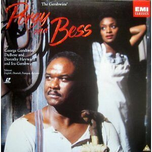Porgy and Bess/Gershwin Laserdisc-Near mint 2 disc edition