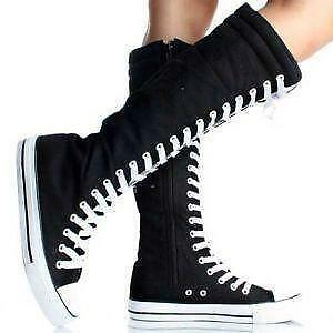 Converse Shoes For Girls High Cut Black