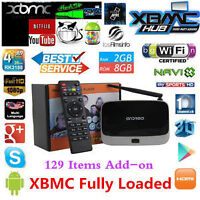**BRAND NEW 2015 ANDROID TV BOX** PROGRAMMED**2 Year Warranty**