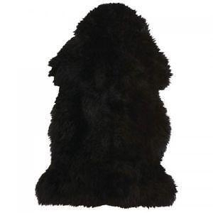 Black Sheepskin Rugs