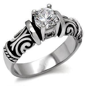 gothic wedding rings - Goth Wedding Rings