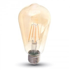 NEW-LED Filament Bulb to create that Traditional Vintage Look - E14 - B22 - E27 - Dimmable Option