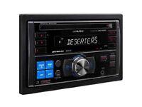 Alpine W235BT Double Din Car Stereo