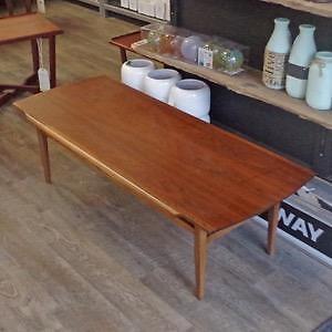 Mid Century Teak, Walnut and Rosewood Coffee Tables