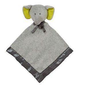 Carters Security Blanket Elephant Ebay
