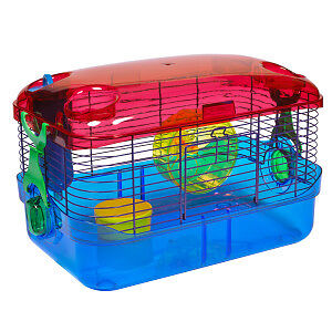 Hamster cage and hamster ball used for one month!