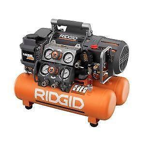Ridgid Portable Air Compressor Ebay