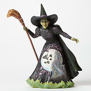 wicked witch of the west 8 inch ceramic colllectable