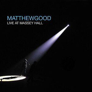 Matthew Good-Live At Massey Hall 2 cd set-Like new