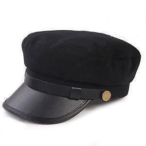 1b6fbfcfab948 Greek Fisherman Leather Hat