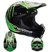 Monster Motorcycle Helmet