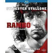 Rambo Trilogy Blu Ray