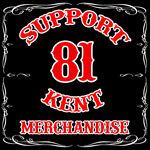 Support 81 Kent Merchandise