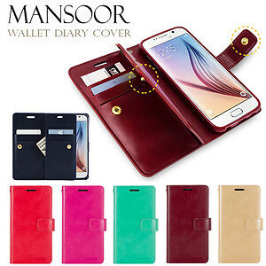 Fancy Color Wallet Diary Flip Case for Apple iPhone 6 6S