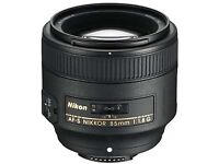 Nikon 85mm 1.8g lens RRP£469