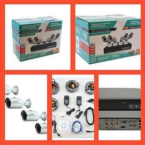 Weekly Promotion ! CCTV Security Camera, DVR,NVR,Connectors,cables,Power supply,  Microphone,power cable,quad ca