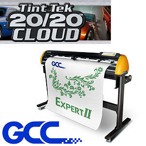 "GCC Ex II 52"" Windows Tint cutter + Tint Cutting Software"