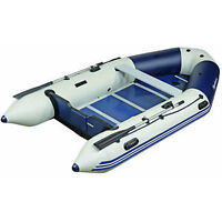 10' zodiac-type boat with electric motor, battery and charger