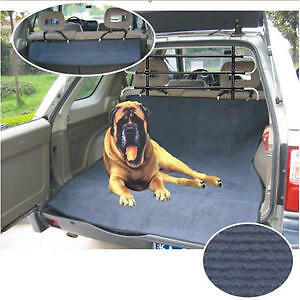 Pet/Cat/Dog Car/4x4 Boot Carpet/Cover Protector & Guard Barrier Universal Fit
