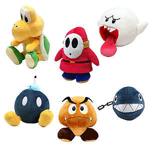 Licensed (NEW) Nintendo Plush (Koopa's, Mario, Yoshi, Pokemon)