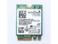 Genuine Intel Dual Band Wireless AC-3160 3160NGW Bluetooth Wifi WLAN Card