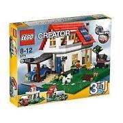 Lego Hillside House