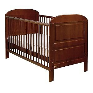 East Coast Angelina Sleigh Cot Bed