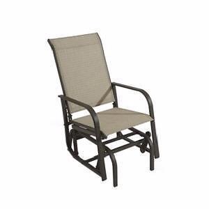 Chaise 1 place sur billes Mojo en acier