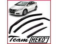 Honda Civic 2012 - 2016 Team Heko Wind Deflectors