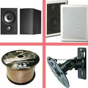 Weekly Promotion ! 50% off for All Speakers!  In Wall/ceiling/Center,Surround Speakers, outdoor Speakers, Speaker Cable,