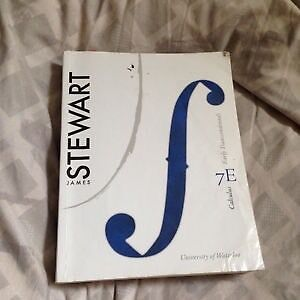 Stewart's Calculus: Early Transcendentals 7th ed. w/ manual Cambridge Kitchener Area image 2