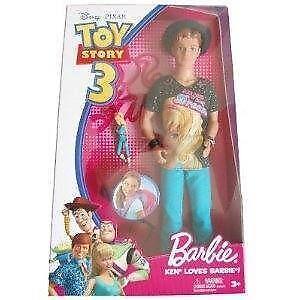 Toy Story 3 Barbie Ken Ebay