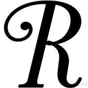 Letter R Wall Decor